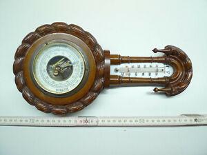 Barometer mit Thermometer , Gründerzeit , Amsterdam