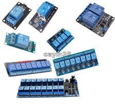 Placa de relé 5 V de 1/2/4/6/8 canales Módulo Optoacoplador LED Para Arduino Pic Avr Arm