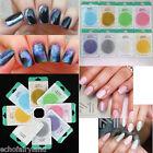10g/bag Nail Art Mirror Mermaid Chrome Pigment Glitter Dust Powder Decoration