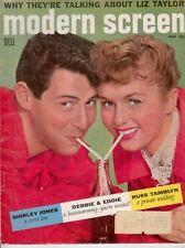Modern Screen - Eddie Fisher & Debbie Reynolds on Cover - 1956