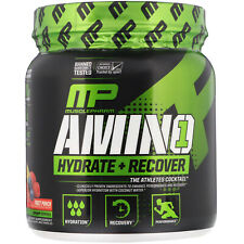 MusclePharm Amino 1 Hydrate  Recover Fruit Punch  15 oz 426 g Banned Substances
