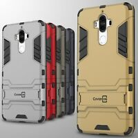 For Huawei Mate 9 Case Hard Kickstand Protective Phone Cover