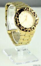 Nieuw Horloge GUESS Gold Leopard Roestvrij staal Dames U0404L1