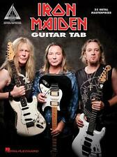 Hal Leonard-Iron Maiden Guitar Tab Book, 25 Metal Masterpieces