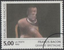 Specimen, France Sc2317 Painting, Portrait of John Edwards, Francis Bacon (GB)