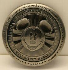 Walt Disney World Magnet Bottle Opener Metal Compass Mickey Mouse