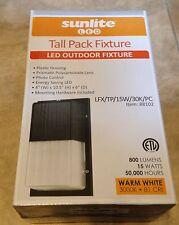 Sunlite LFX/TP/15W/PC 88102 LED Tall Pack Outdoor Light Fixture NEW factory seal