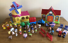 Happylsnd Large Bundle Windmill - Barn Lots Of Figures & More