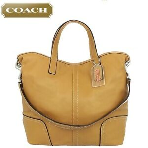 Authentic COACH 27728 Hadley Leather Duffle