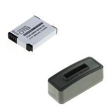 Akku und Ladegerät für Panasonic Lumix DMC-TZ61 DMC-TZ71