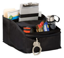 Uncle Mike's Deluxe Car Seat Organizer Black Police Vehicle Fire EMS 52562