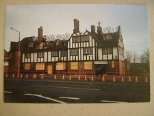 Postcard. WOODLANDS HOTEL AFTER FIRE, DONCASTER. Unused.