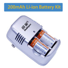 Doublepow 15270 3.0V CR2 Lithium Rechargable Dual Charger With 2 CR2 Batteries