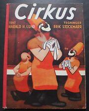 LUND, HARALD H.  Cirkus. First Edition. Kobenhavn, 1936.