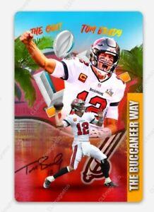 Tom Brady MAGNET - Tampa Bay Buccaneers Go Bucs Florida The Goat QB Super Bowl