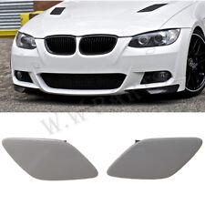 For BMW 07-2010 E92 E93 Coupe Headlight Washer Cover Cap Lamp Flap  Bumper Trim