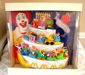 1994- RONALD McDONALD'S HAPPY BIRTHDAY HAPPY MEAL STORE DISPLAY-N.MINT-W BOX-TOY