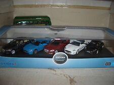 Oxford 76SET18 SET 18 1/76 OO Scale 5 x 1/76 Jaguar Modern Set XJ XK XKRS XF F