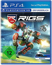RIGS: Mechanized Combat League (Sony PlayStation 4, 2016) PS4