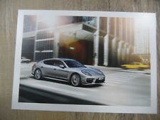 PORSCHE Postkarte postcard Panamera Turbo Executive  SR318