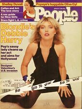 Debbie Harry Blondie People Weekly Magazine March 1981 Joan Rivers and Protectio