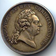 Louis XV Médaille argent Mariage Louis XVI et Marie-Antoinette 1770 マリー・アントワネット