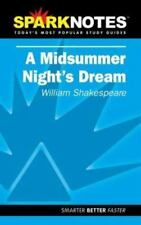 SparkNotes Literature Guide: A Midsummer Night's Dream by William Shakespeare (…