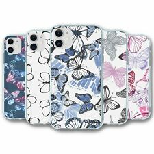 For iPhone 11 Silicone Case Cover Butterfly Collection 4