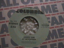 "JANIS IAN ""AT SEVENTEEN"" / ""WHEN THE PARTY'S OVER"" 7"" 45 MINT"