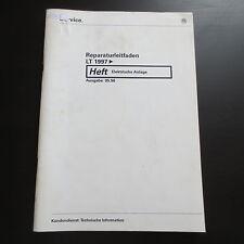VW LT II 2. Generazione 1997 Manuale officina Elettrica / Elettrico Impianto