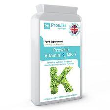 Prowise Vitamina K2 MK-7 100mcg 120 Capsule da naturali Natto, UK FABBRICATI