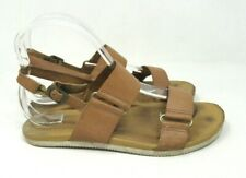 TEVA Women's Summer Sandals Adjustable Strap Open Toes BROWN 1011522 USA 7.5