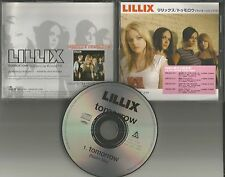 LILLIX Tomorrow w/RARE LINDA PERRY REMIX JAPAN Made PROMO DJ CD single USA Seler