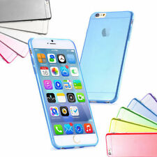 New Original Ultra ThinTransparent Blue Back Case Cover For iPhone 6/4,7Inch