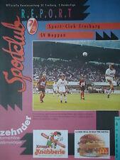 SC Freiburg Programm 1992//93 Hannover 96