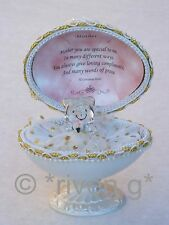MOTHER Faberge-Based Design@22kt EASTER MAMMY EGG CHRISTMAS Gift Love MUM Verse