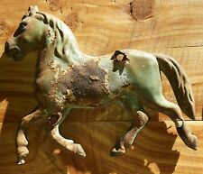 VINTAGE OLD HORSE WEATHER VANE ,