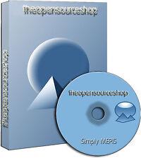 SimplyMEPIS 11.0 Linux Bootable Live/Install DVD + Free Random Retro Linux CD