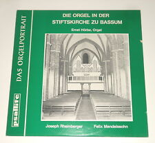 Ernst Hörbe-orgue/Organe-LP-Rhin Berger MENDELSSOHN-Bassum-psallite