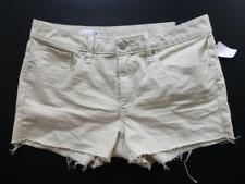 GAP Shorts Womens Size 24/00 Mid Rise Beige Slim Cut Off Stretch Jean Shorts New