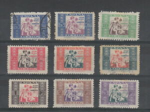 Spain 1934 Charity issues , 9 stamps,