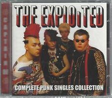 EXPLOITED - COMPLETE PUNK SINGLES COLLECTION - (still sealed cd) - AHOY CD 267