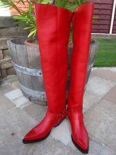 Sendra musketierstiefel 7977-Cuervo-Ibiza rojo (Nappa-cuero) talla 9 = 43