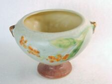 Roseville Pottery Bittersweet Footed Bowl ~ Signed, Vintage Planter, Compote