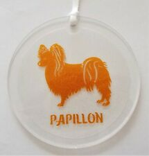 Papillon Dog Window Ornament,Wall Decoration,Hanging Dog Art,Dog Lover Gift