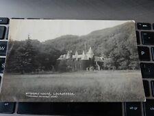 More details for postcard  p7 j1  urquhart dingwall series  lochcarron attadale house