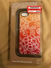 iPhone 5/5S Belkin Tanamachi Goods Floral Ombre Orange/Red/Yellow Case NEW