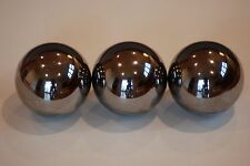 """THREE  1"""" inch monkey fist tactical steel ball cores"""