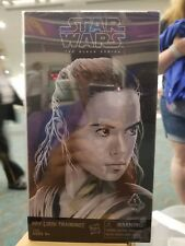 SDCC 2017 Hasbro Star Wars Luke Skywalker Rey Black Series Figures