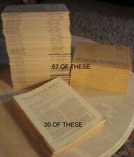 97 VINTAGE CLASSICAL WORLD JOURNALS-GREEK-LATIN LITERATURE